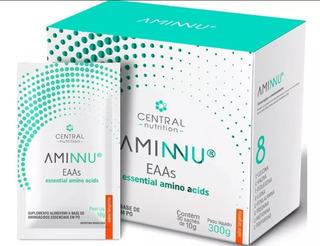 Aminnu Eaas 10g-30 Sachês- Essencial Amino Acids -tangerina