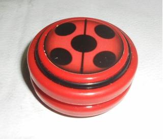 Yo-yo De Lady Bug.profesional Eje De Madera Eleji El Modelo