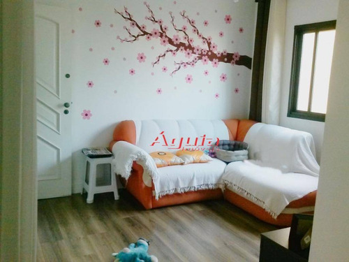 Cobertura Com 2 Dormitórios À Venda, 48 M² Por R$ 350.000,00 - Vila Alzira - Santo André/sp - Co0697