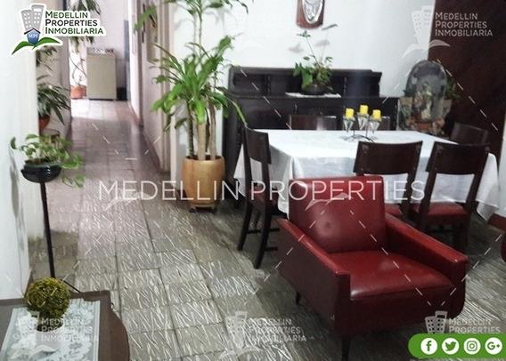 Apartamentos Amoblados Economicos En Medellin Cód: 4853