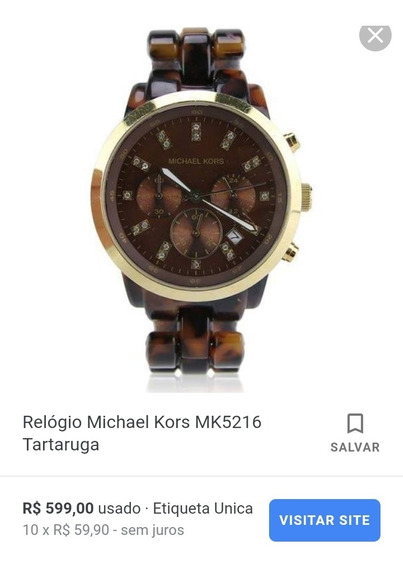 Relógio Feminino Michael Kors Mk 5216