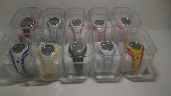 Kit Com 10 Relógios Infantil Digital+caixas Atacado Lote