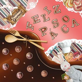 25 Sacos P/embalar Ovo Pascoa 500g Bombons Chocolate