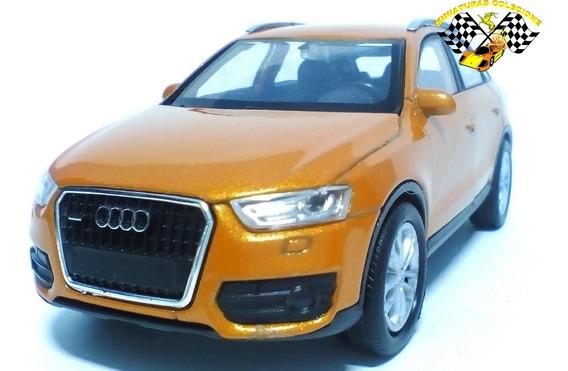 Miniatura Audi Q3 Marrom 1:38 Welly