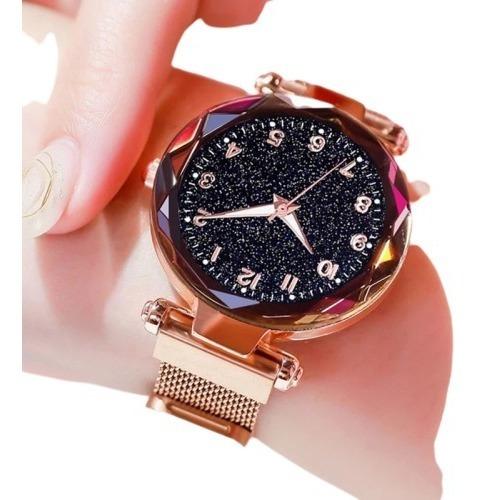 Kit 5 Relógio Feminino Céu Brilhante Strass Moda Revenda