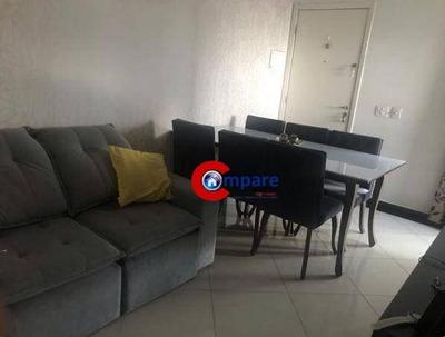 Cobertura Com 3 Dormitórios Para Alugar, 100 M² Por R$ 2.175/mês - Cocaia - Guarulhos/sp - Co0043