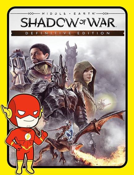 Middle Earth Shadow War Definitive Pc Steam Key Envio Flash