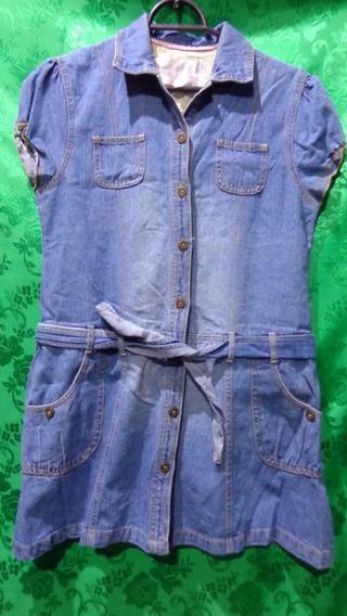 Vestido Juvenil Feminino Jeans Marca Miss Fifteen Tm/16