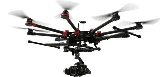 Drone Dji S1000+ Com A2 + Zenmuse Z15 + Futaba 14sg