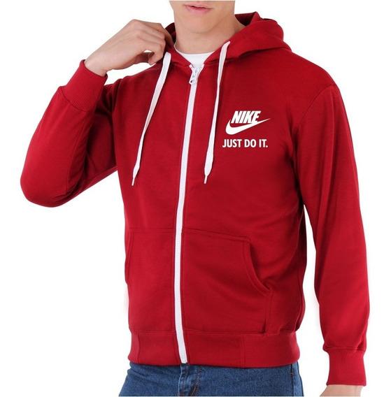 Suéteres Nike Just Do It Estampado Con Cierre Niños Adulto