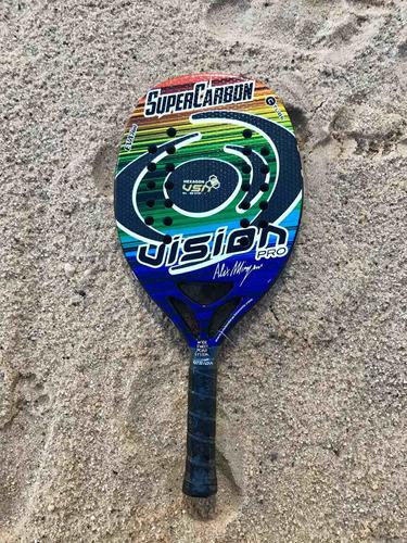 Raqueta De Beach Tennis Vision Súper Carbon Pro Oferta