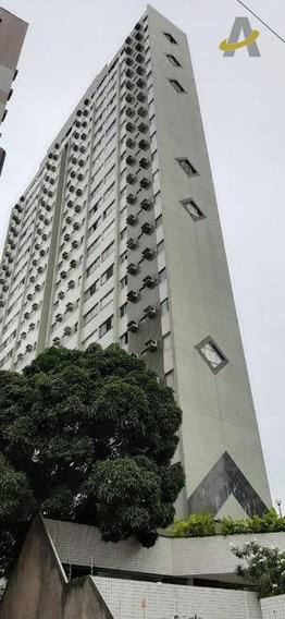 Apartamento Com 2 Dormitórios Para Alugar, 70 M² Por R$ 1.850,00/mês - Aflitos - Recife/pe - Ap0456