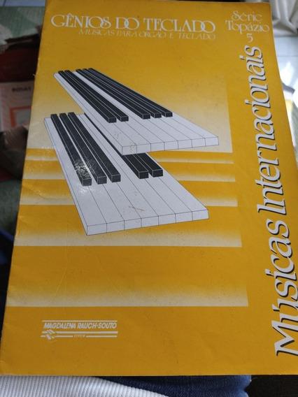 Método Gênios Do Teclado Músicas Para Órgão E Teclado