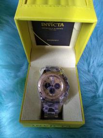 Reloj De Caballero Original Marca Invicta Nuevo En Caja Gran