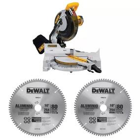 Sierra Ingleteadora 10 1600w + 2 Discos Dewalt Dw713-k4