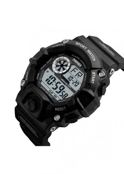 Relógio Masculino Skmei Digital 1019 Preto Militar Nf