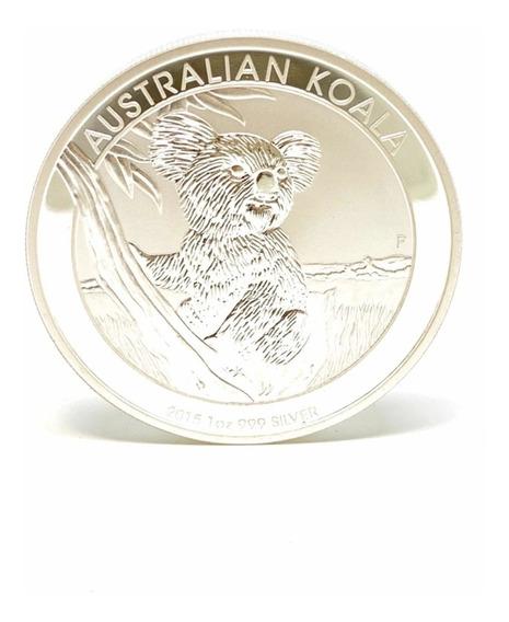 Moneda Onza Troy Plata 999 Koala Australia Cuotas