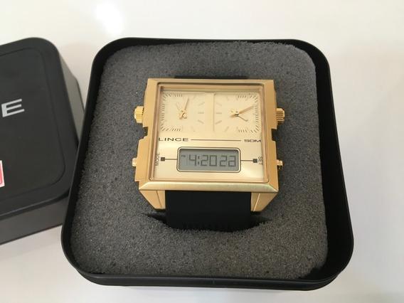 Relógio Masculino Lince - Map4587s - Original - 32