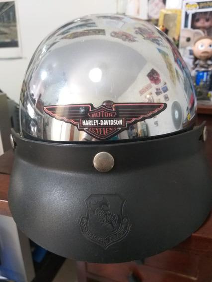 Capacete Original Harley Davidson (anos 90) Tamanho Médio