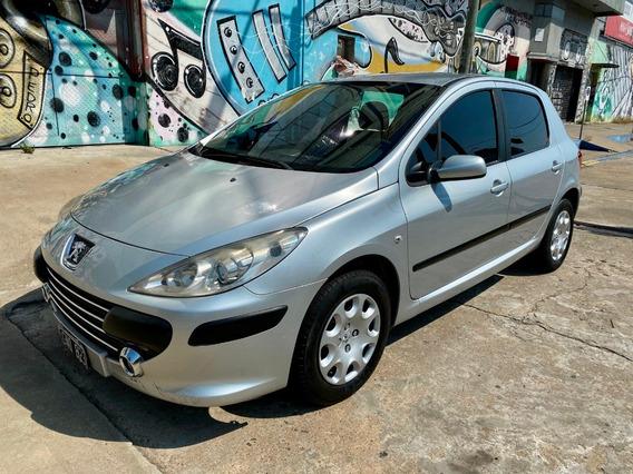 Peugeot 307 1.6 Xs 2007 Financiacion 100% En Cuotas