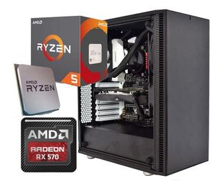 Pc Gamer Amd Ryzen - Fractal Design Mini C Tg