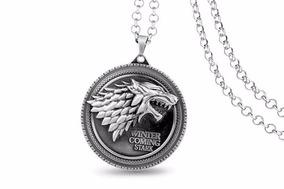 Cordão Game Of Thrones Winter Is Comming Stark - Promoção
