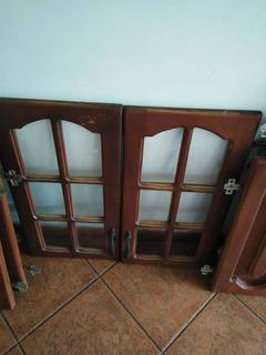 Puertas De Gavinetes, De Cedro
