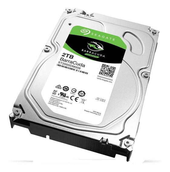 Hd Seagate Barracuda, 2tb, 3.5´, Sata - St2000dm006