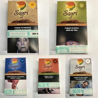 Tabaco Sayri 50gr-sin Aditivos Local Once