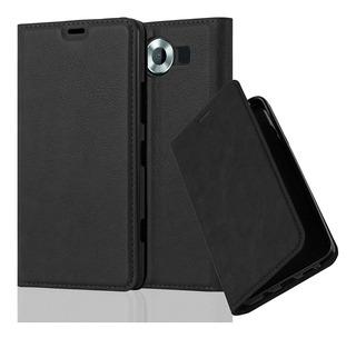 Cadorabo Caso Funciona Con Nokia Lumia 950 Libro Caso En Nig