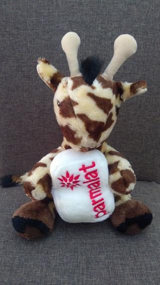 Usado: Pelúcia Girafa Parmalat Original