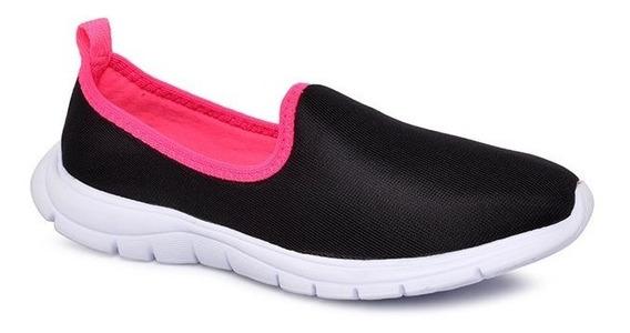 Tênis Bouts 8520-699 Preto/pink