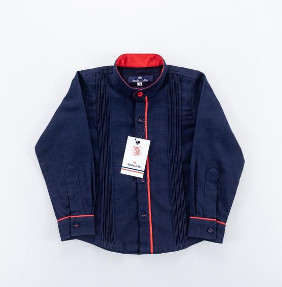 Camisa Guayabera Niños Diseño Exclusivo Liquidación