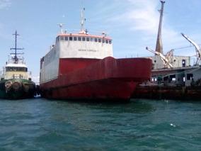 Se Vende Barco Pasajeros, Carga Tipo Ferry De Acero Naval