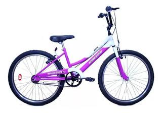 Bicicleta Paseo Para Chicas Roller Melva Rodado 24