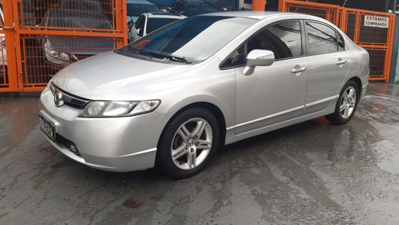 Civic Sedan Exs 1.8 Aut. 4p 2007 Comp+bcs Couro+gps
