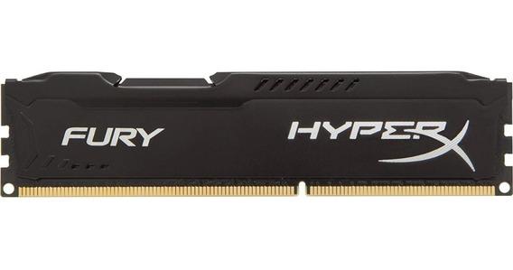 Memoria Ddr3 4gb Pc Hyperx Fury 1600 Mhz Black