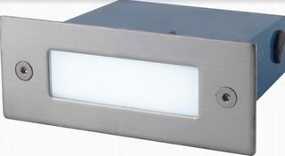 Spot Embutido Pared Rectangular Led Marca: Candil Modelo: Fan Ep10005 Ideal Escaleras Entradas Apto Uso Exterior