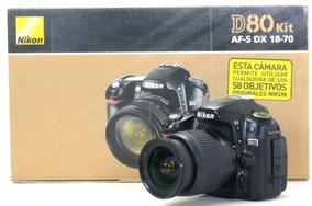 Nikon D80 Com Objetiva Zoom 18-55mm 4156102