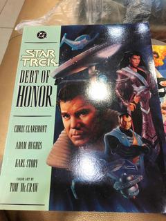 Star Trek Debt Do Honor Hq 1992