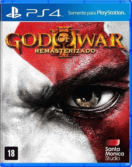 God Of War 3 Remasterd Ps4 Mídia Digital Primária Promoção