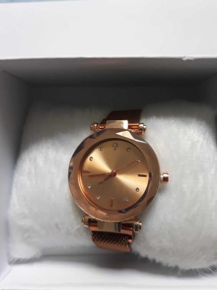 Relógio Pulseira Magnética Novo Original