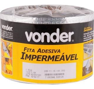 Manta Asfaltica Adesiva Aluminizada 10 X 10 Vedação Vonder