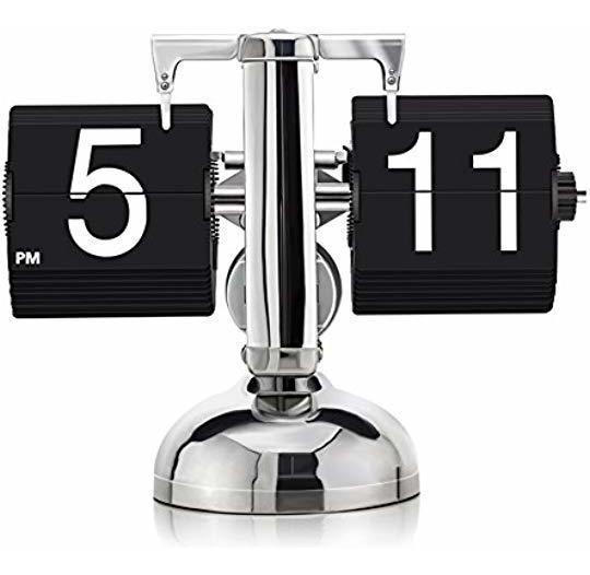 Reloj Retro Plegable Con Mecanismo Interno, Digital