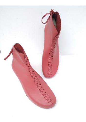 Imagen 1 de 2 de Zapatos/botines Artesanales Dama