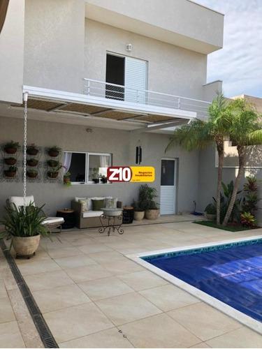Ca09224 -residencial Maria Dulce - Sobrado - At.300m², Au.219,56m², 03 Dormitórios (sendo 03 Suítes) - Indaiatuba/sp - Z10 Imóveis. - Ca09224 - 69194334