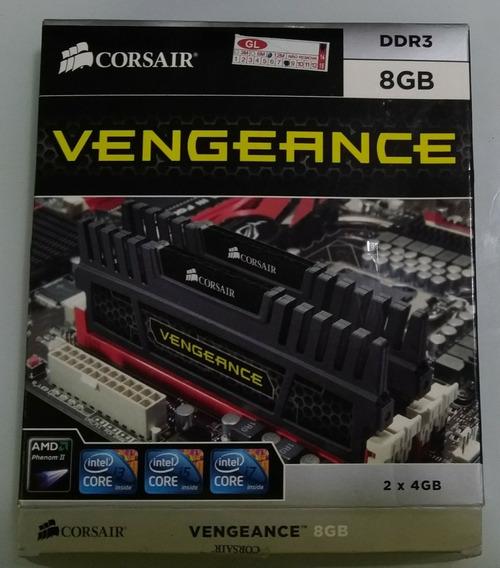 Memória Corsair Ddr3 Vengeance 1600mhz 9-9-9-24