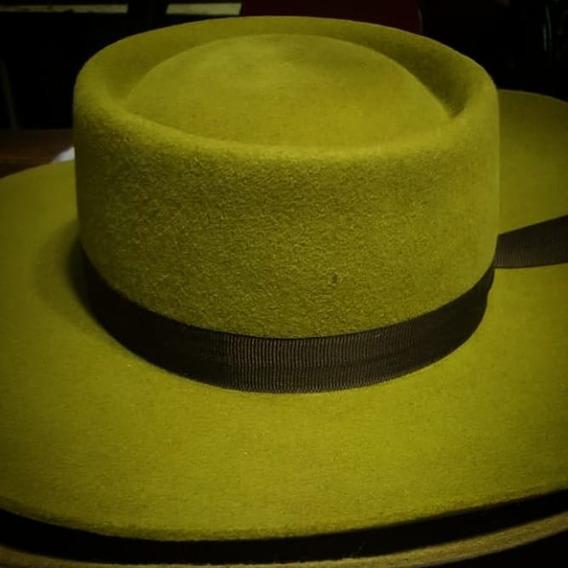 Sombrero Gaucho Norteño Paño Baile Folklore Colores Ala 10