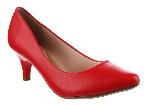 Zapatos Stilettos Beira Rio Vizzano Taco 6 Cm Hot Rimini