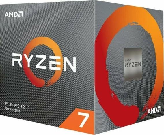 Processador Am4 Ryzen 7 3800x 3.9ghz (4.5ghz Max Boost) Cach